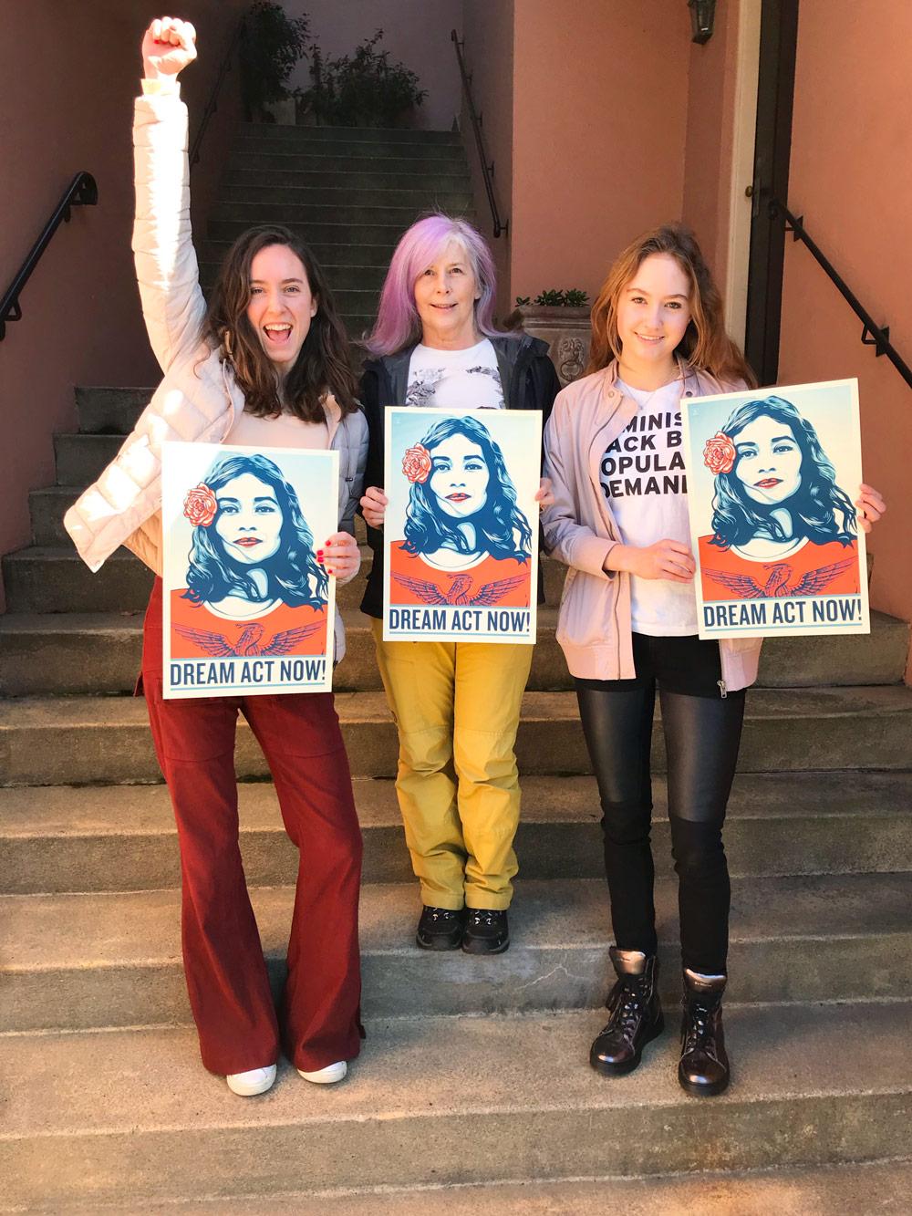 SF Women's march